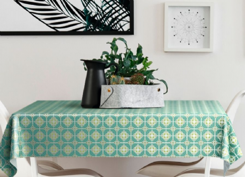 Kate Green Deluxe Food Safe Wipe Clean Tablecloth